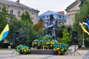 The Monument to Shevchenko