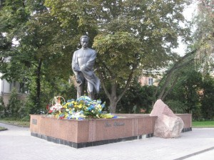 The Monument to I.Franko