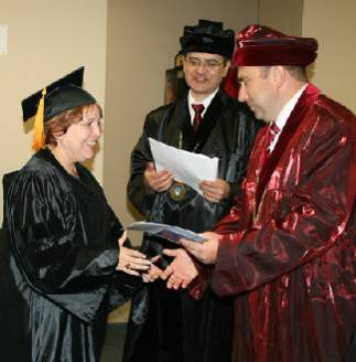 Graduates of the distance learning Bachelor